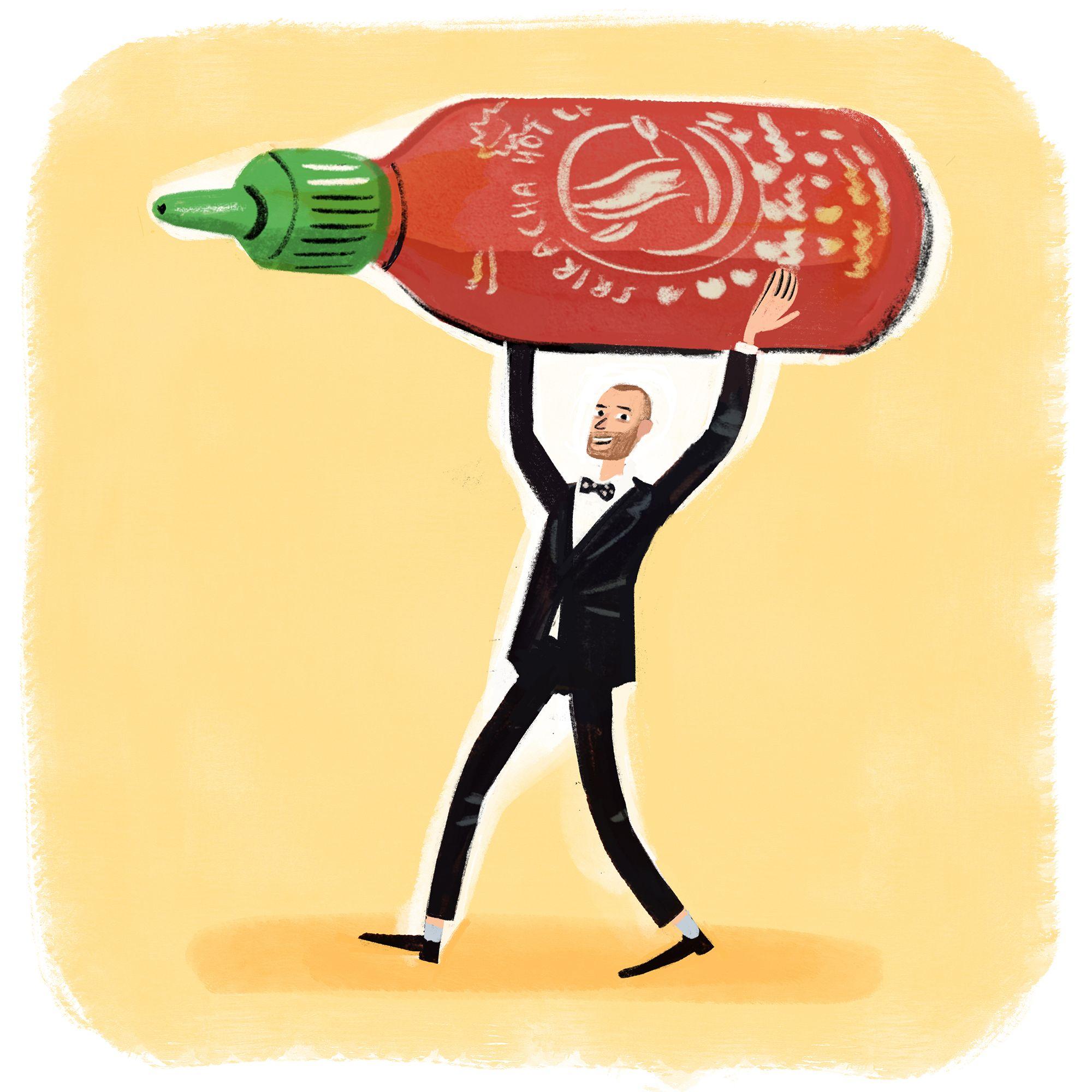 Sean Oakford Of Roganic On Why Sriracha Is The Perfect Sauce For Hong Kong Sausage Buns
