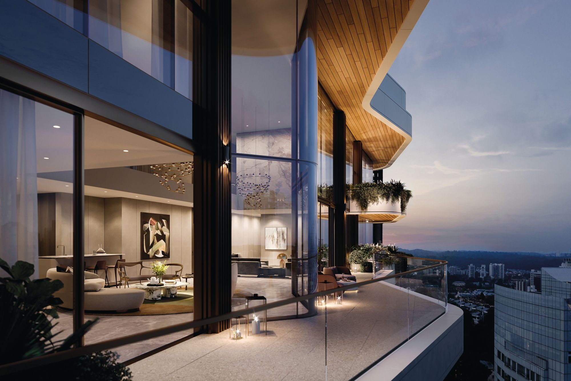 Urban Luxury Meets Green Living At This New Luxury Residence In Singapore