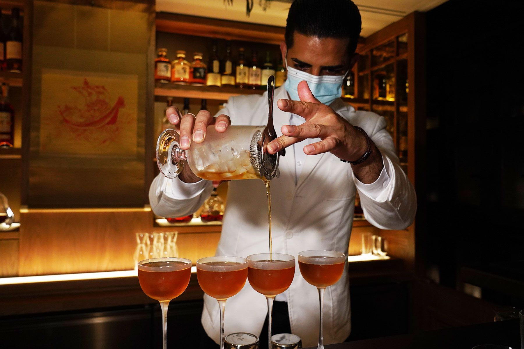 At The Aubrey, A Hard-Hitting Cocktail Omakase Is Born