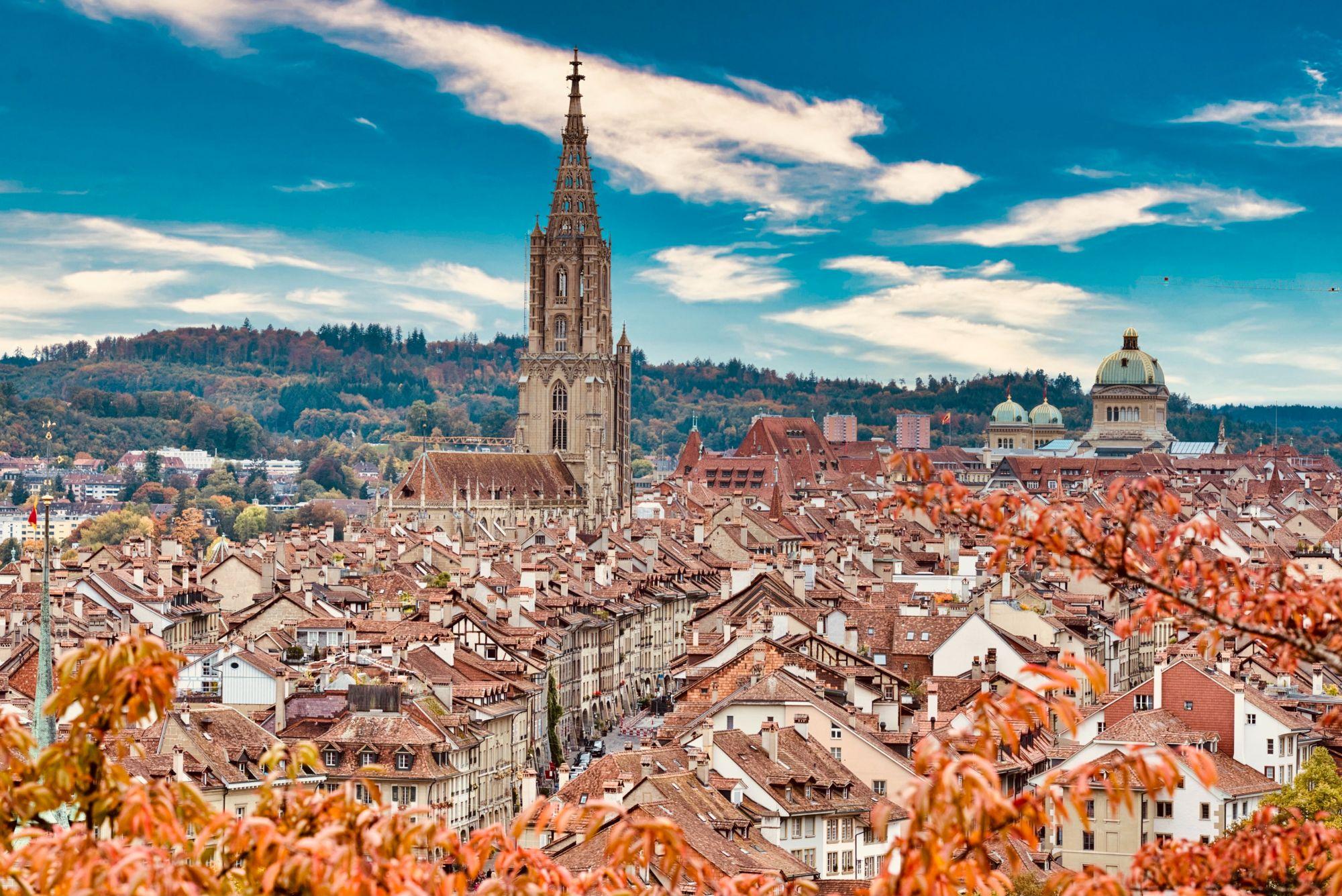 瑞士伯爾尼——世界上壓力第二小的城市。 (Photo: Courtesy of Unsplash)