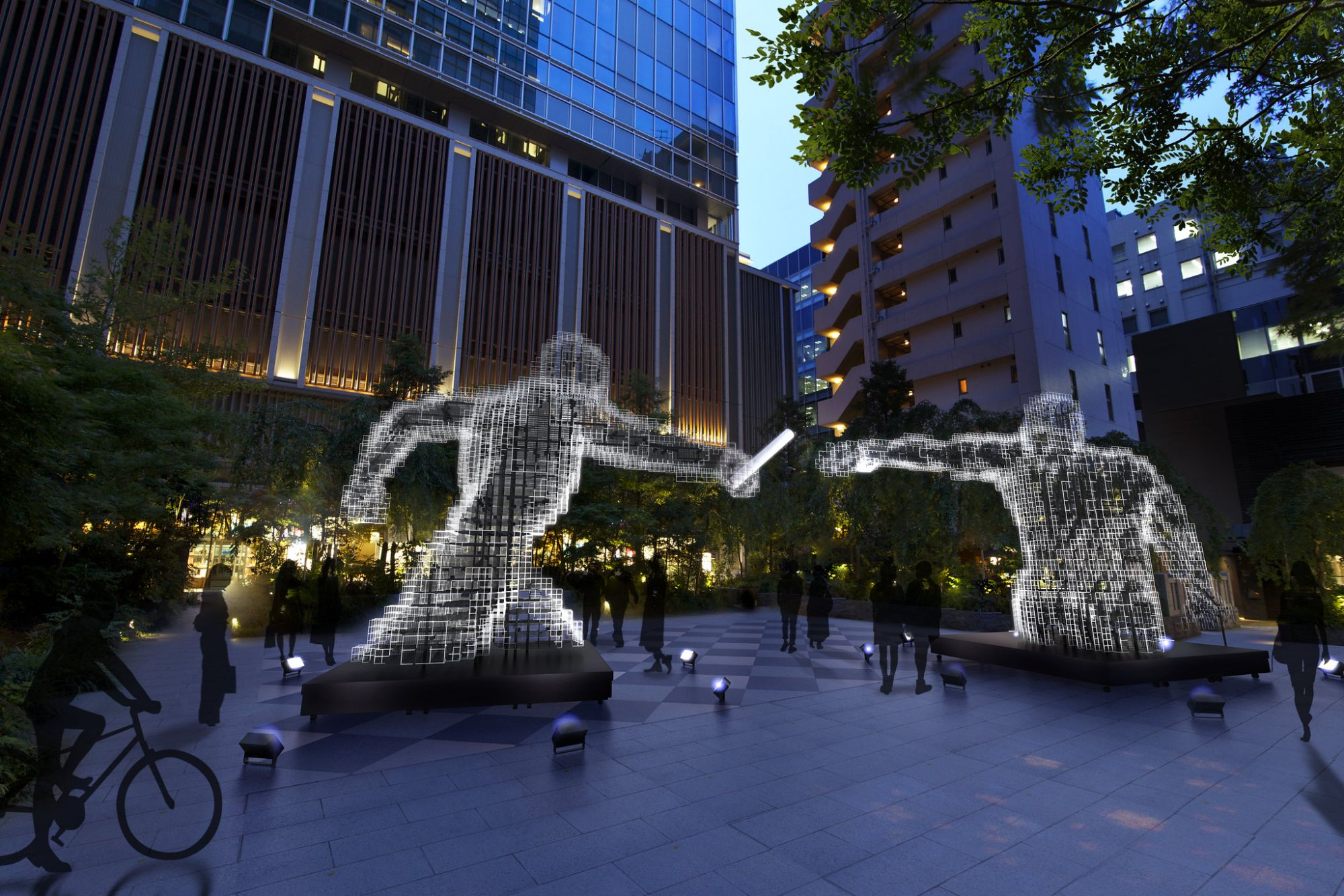 """Cultural Hub """"Olympic Agora"""" Opens In Tokyo Ahead Of The Olympic Games"""