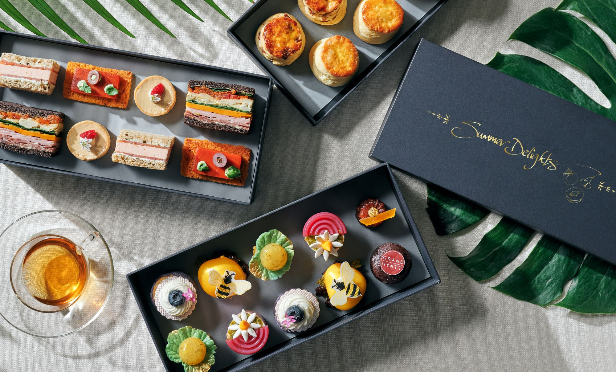 Tiffin Presents Brand New Afternoon Tea Set For A Fruitful Summer