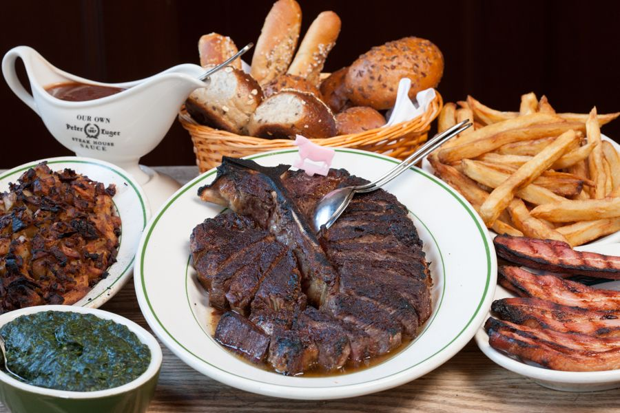 Photo by Peter Luger Steakhouse