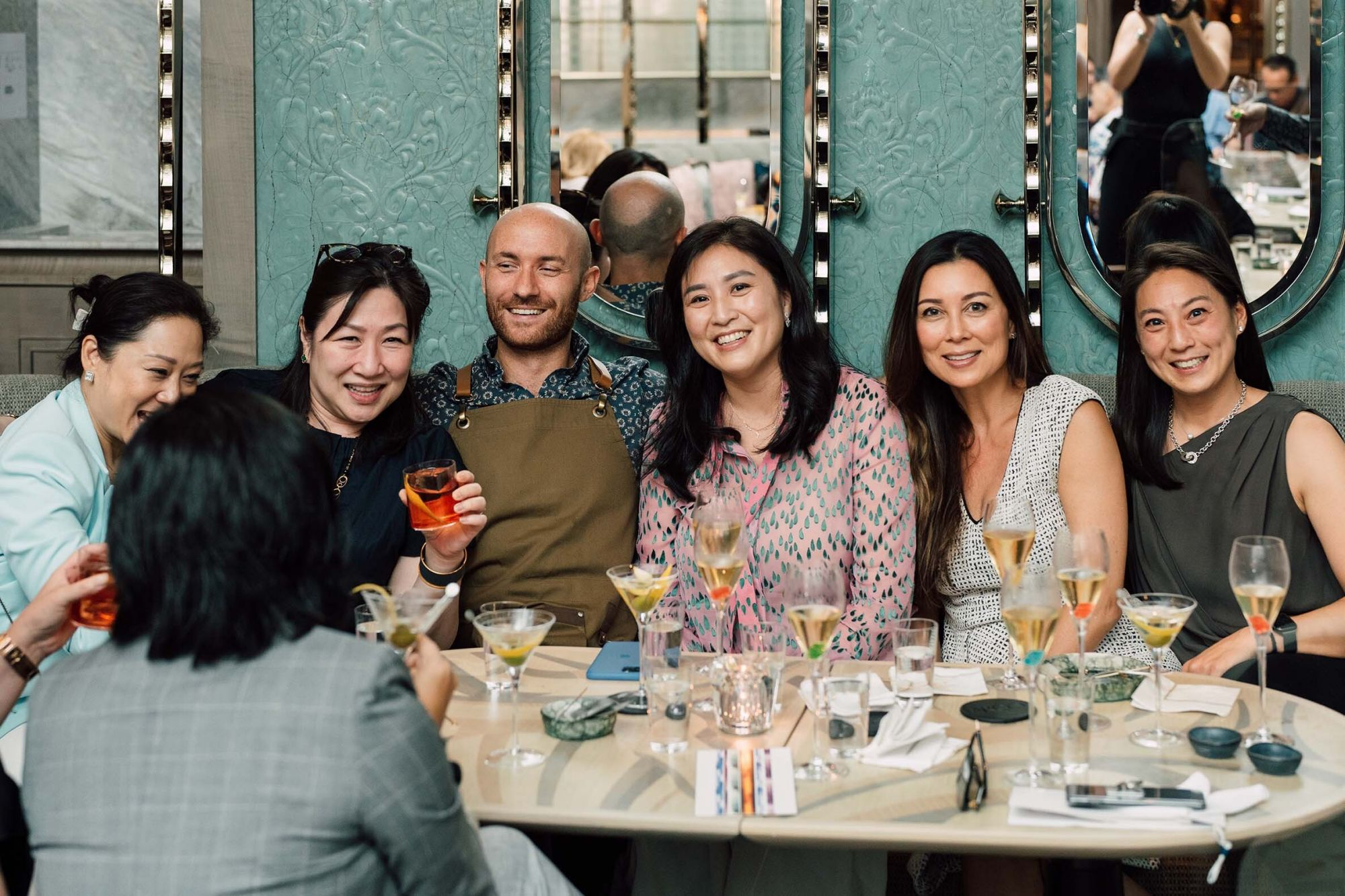 Yuda Chan, Odelia Cheung, Lorenzo Antinori, Leigh Tung Chou, Michele Li and Pamela Tung