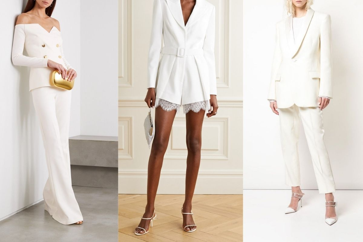 Bridal Suits: 8 Alternatives To Traditional Wedding Gowns