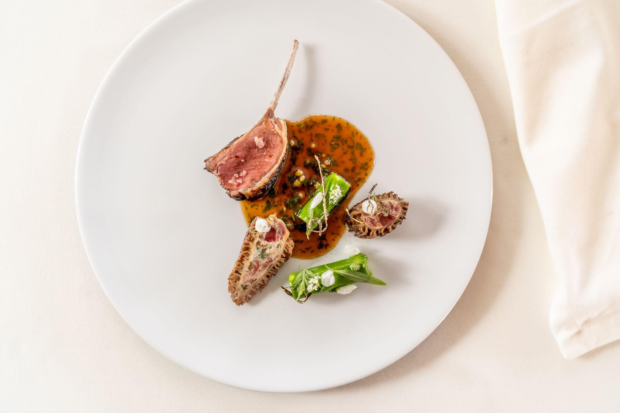 The Glenturret Lalique Restaurant's North Ronaldsay mutton (Photo: Glenturret)