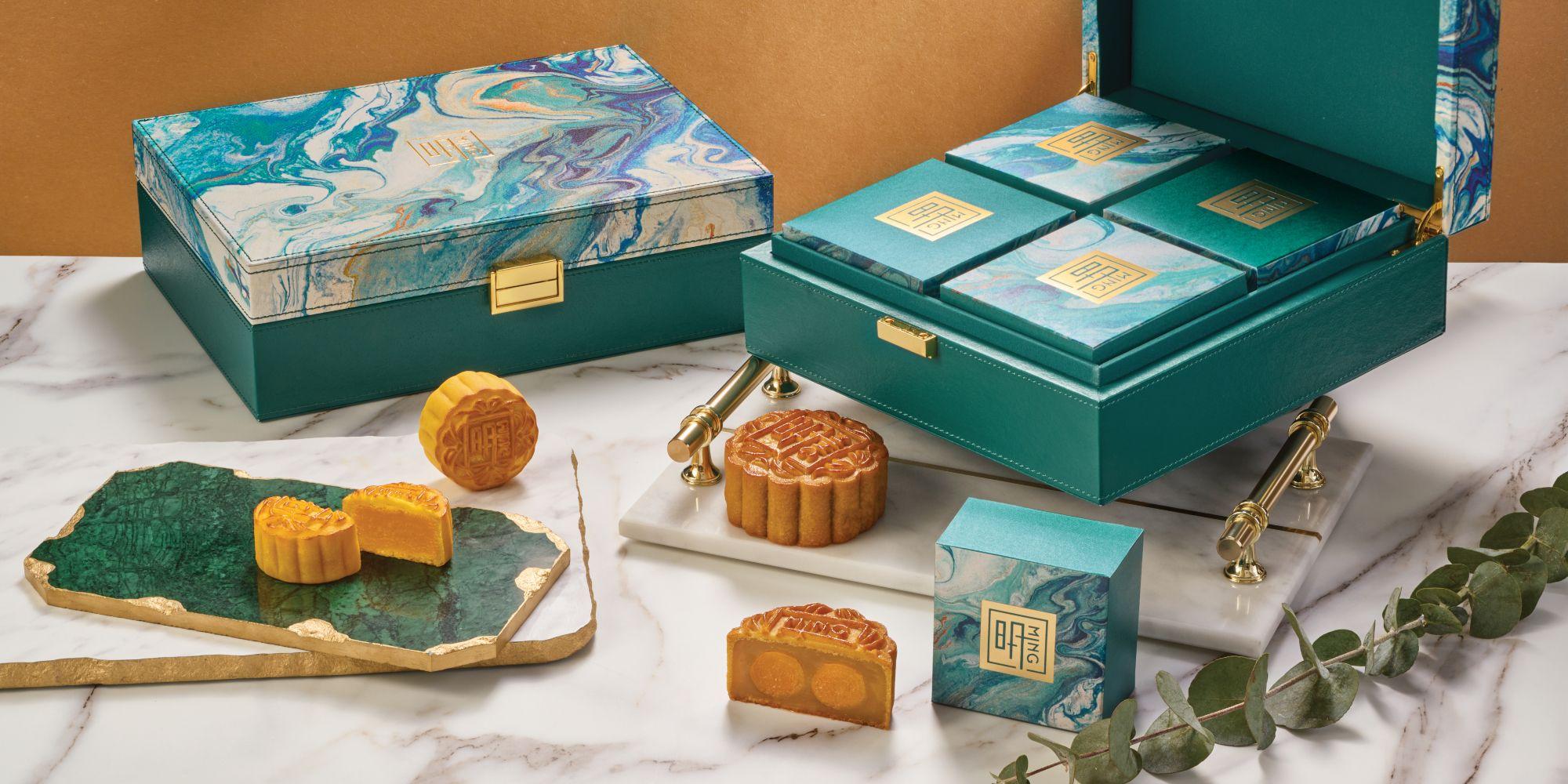 Ming Court's mooncake box (Photo: Ming Court)