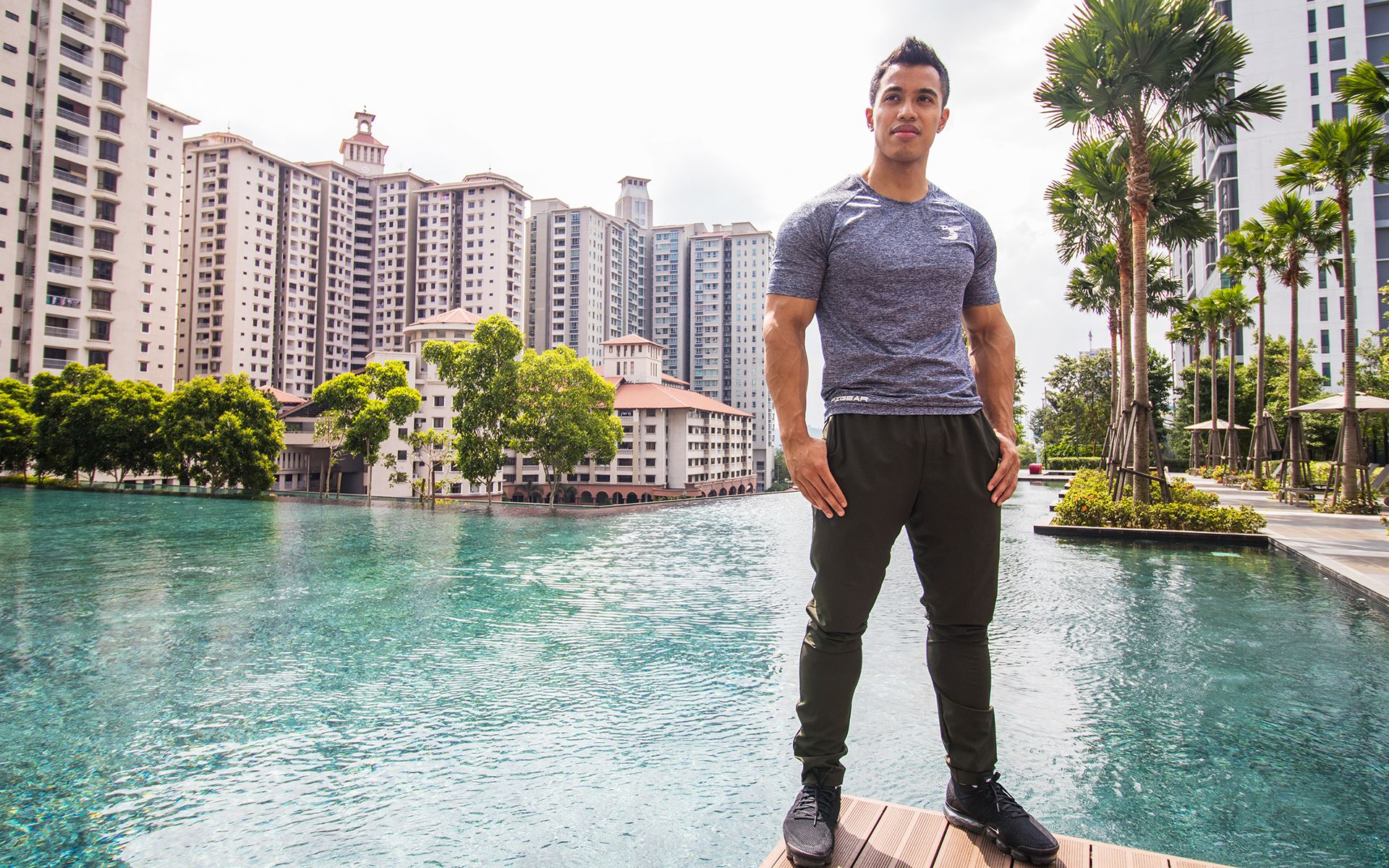 Watch: What Bodybuilder Faiz Ariffin Did During Ramadan That