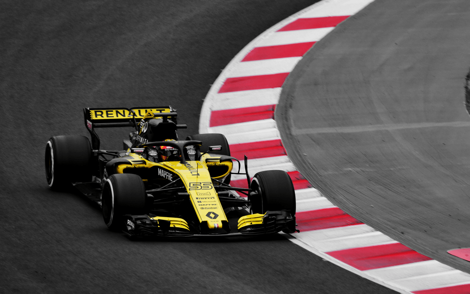 Renault Sport Formula One Team in action (Photo: Bell & Ross)