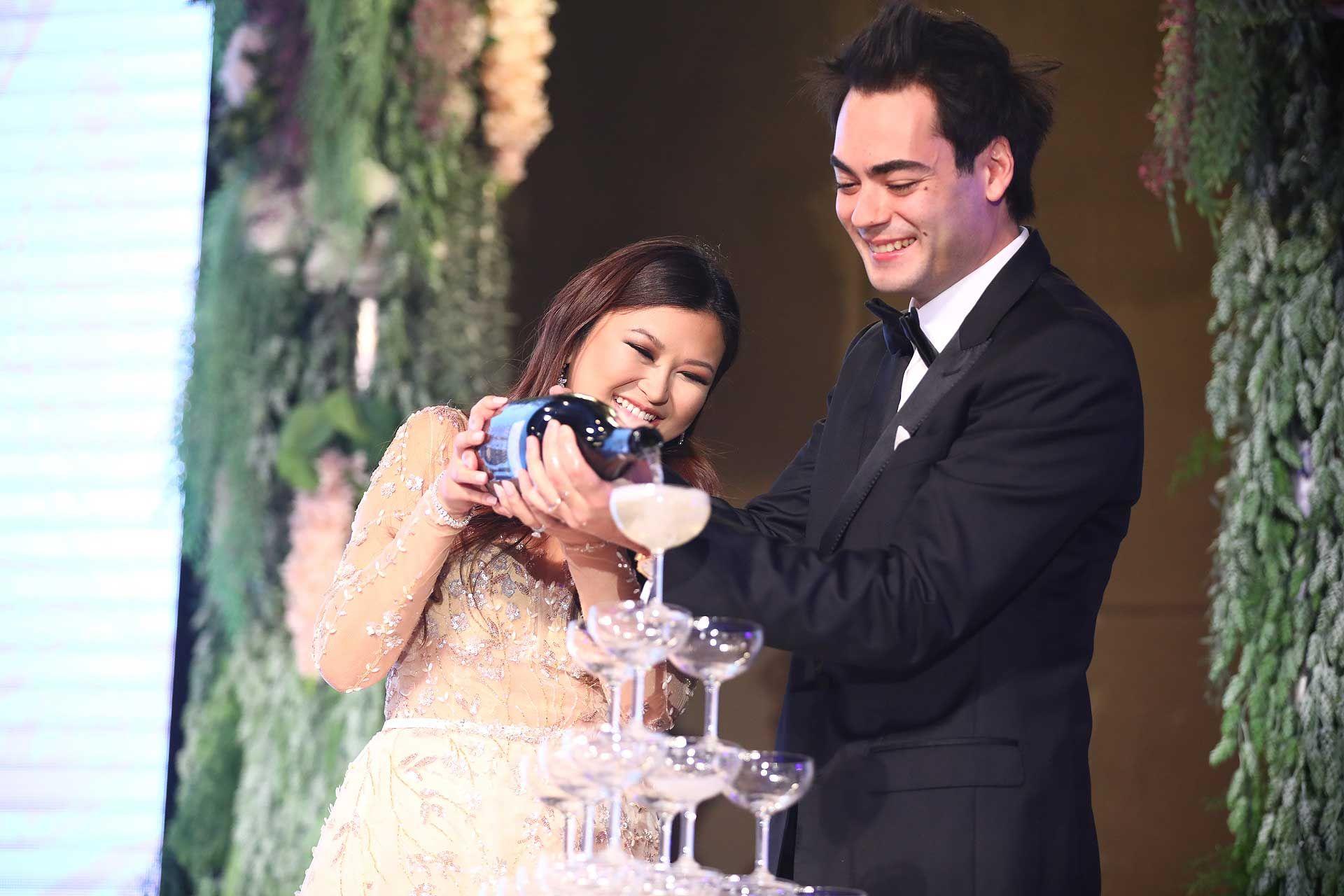 Yeoh Pei Nee and Justin Chai