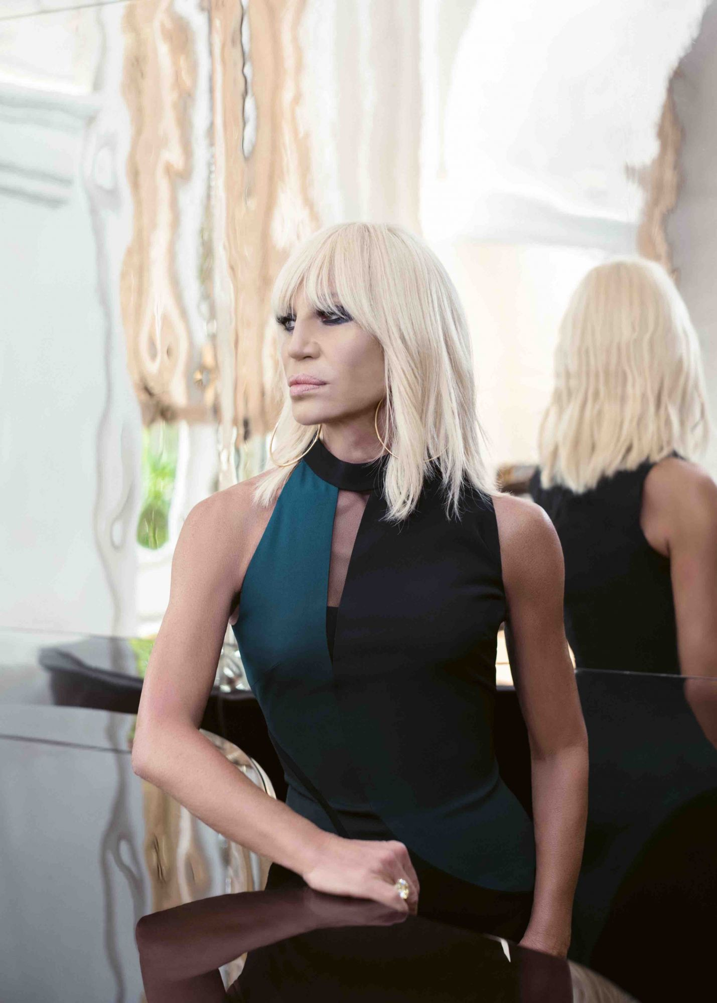 An Exclusive Interview With Donatella Versace, On The Inspiration Behind The Versace Home 2018 Collection