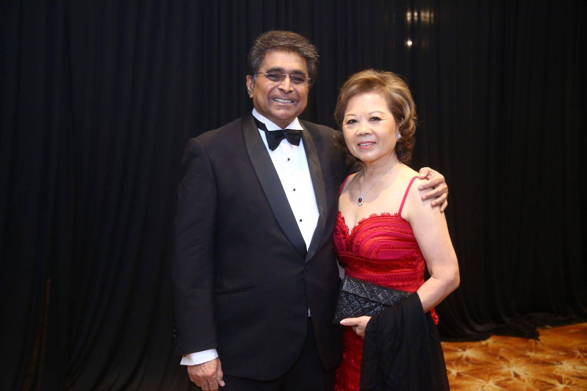 Dato' Sri Jeffrey Raymond and Datin Sri Joyce Raymond at the Malaysia Tatler Ball