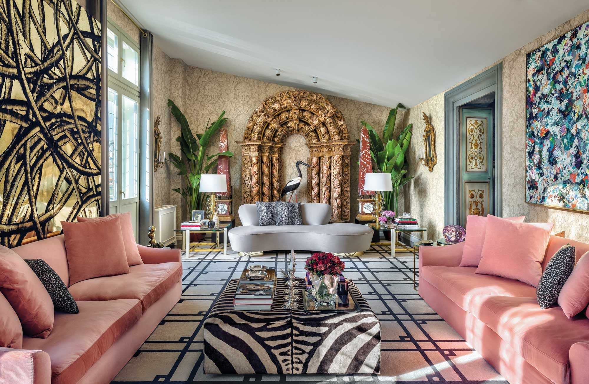 Inside Aquazzura Founder Edgardo Osorio's Eclectic Florentine Home