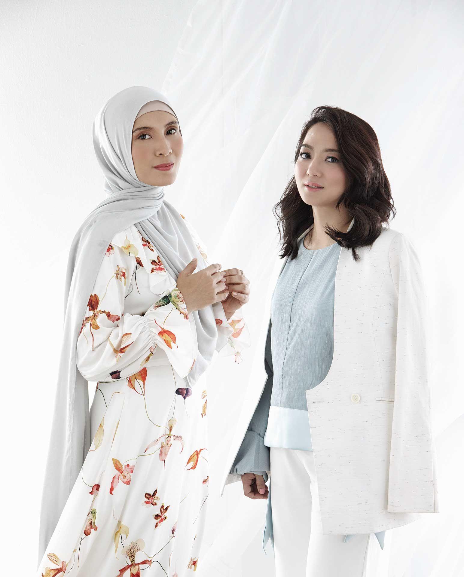 Nurul Izzah and Hannah Yeoh