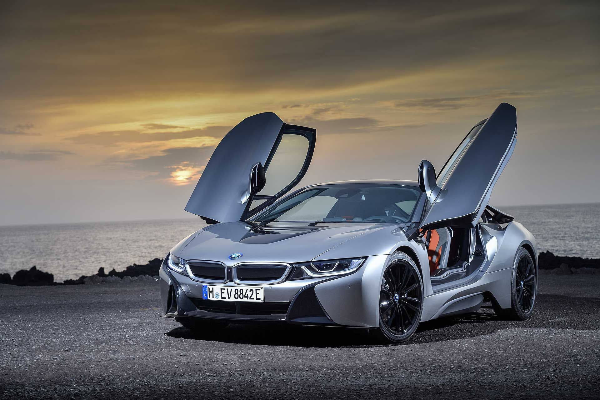 BMW Updates Its Sports Car Of The Future With The New i8 Coupé