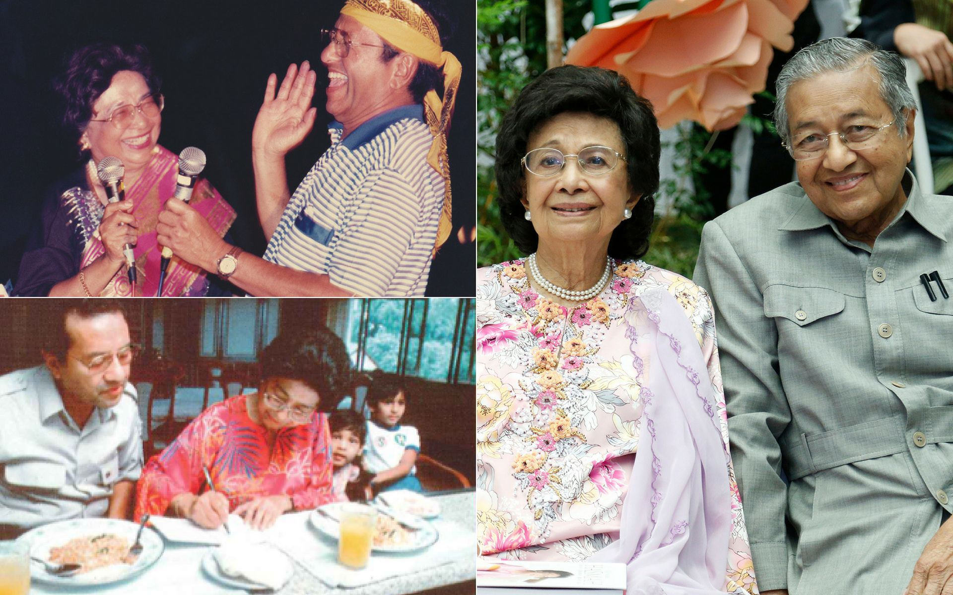 Couple Spotlight: Tender Moments Of Tun Dr Mahathir Mohamad & Tun Dr Siti Hasmah