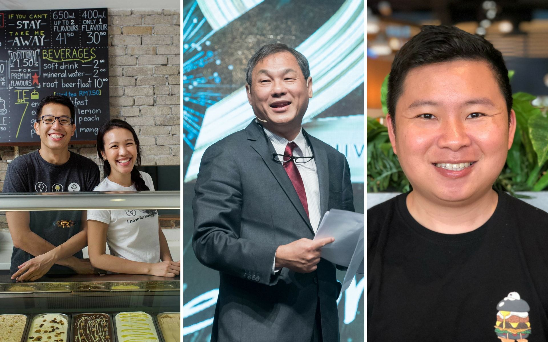 Homegrown Heroes Of F&B: Inside Scoop, myBurgerLab & Rotiboy