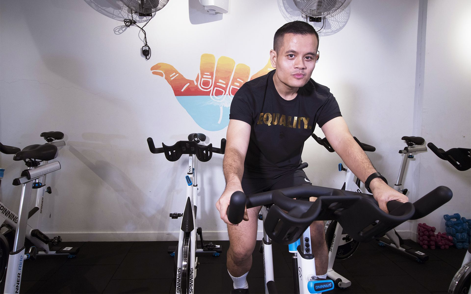 Watch: Spinning King Amri Rahim, On How Cardio Treated His Diabetes