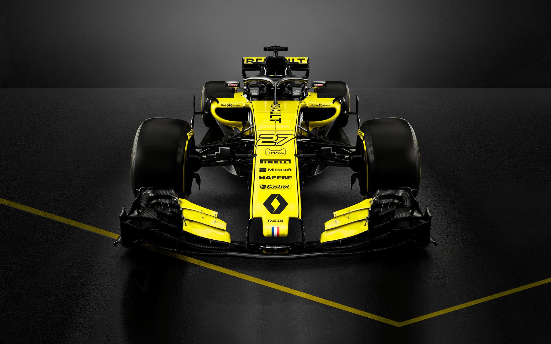 Renault Sport Formula One racecar (Photo: Bell & Ross)