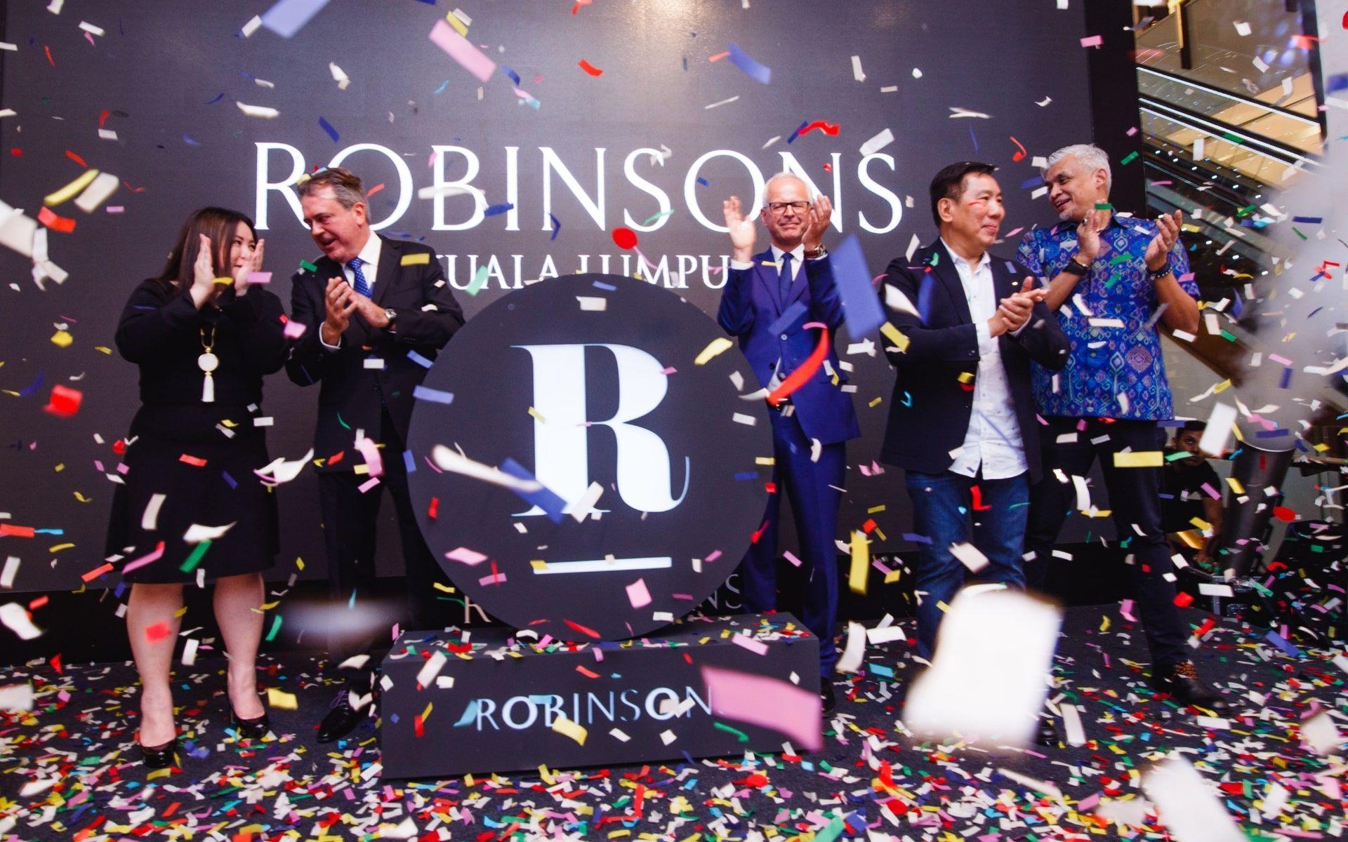 Ashley Tang, Christophe Cann, Paul Delaoutre, Datuk David Ban and Zahir Kelvin Ong