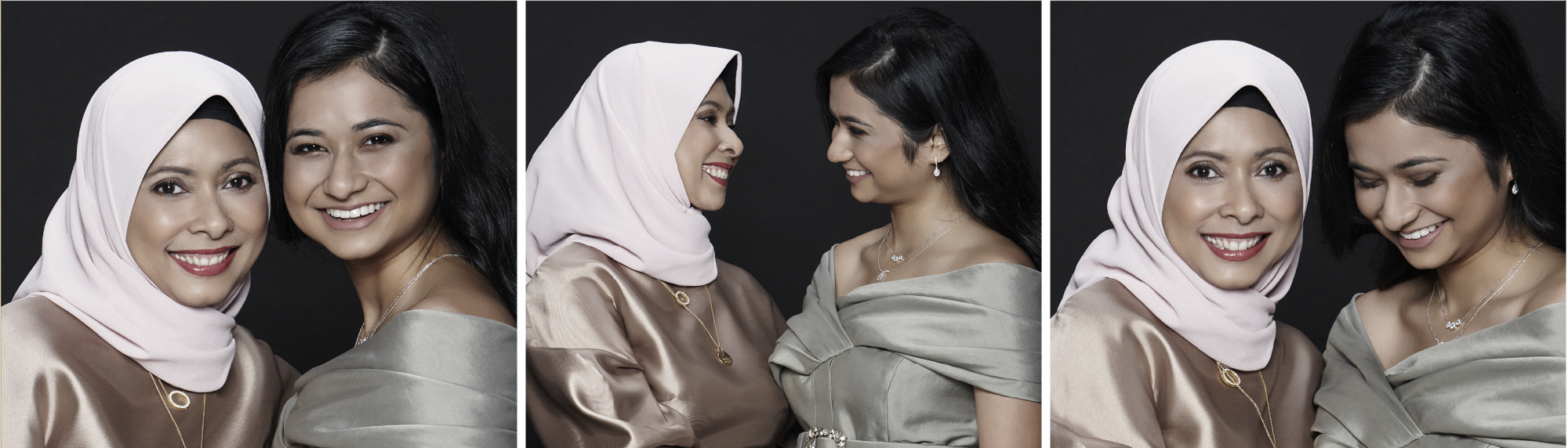 Three Sets Of Ladies With Enviable Mother-Daughter Relationships Come Together For A Special Shiseido Shoot