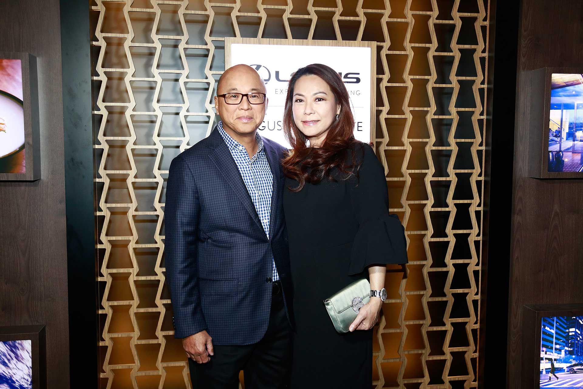 Dato' KK Loh and Datin Patsy Loh