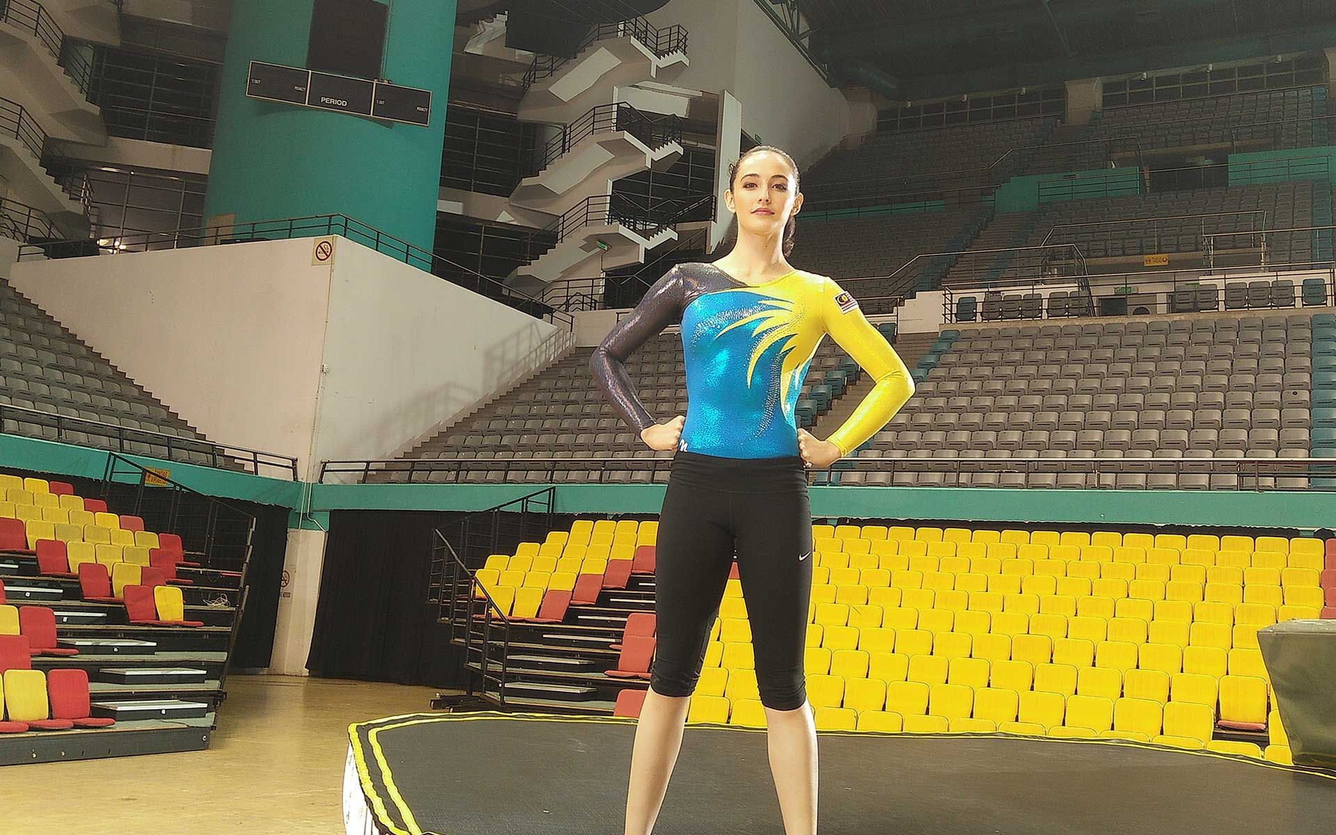 How This Malaysian Gold Medal Gymnast Handles Her Food