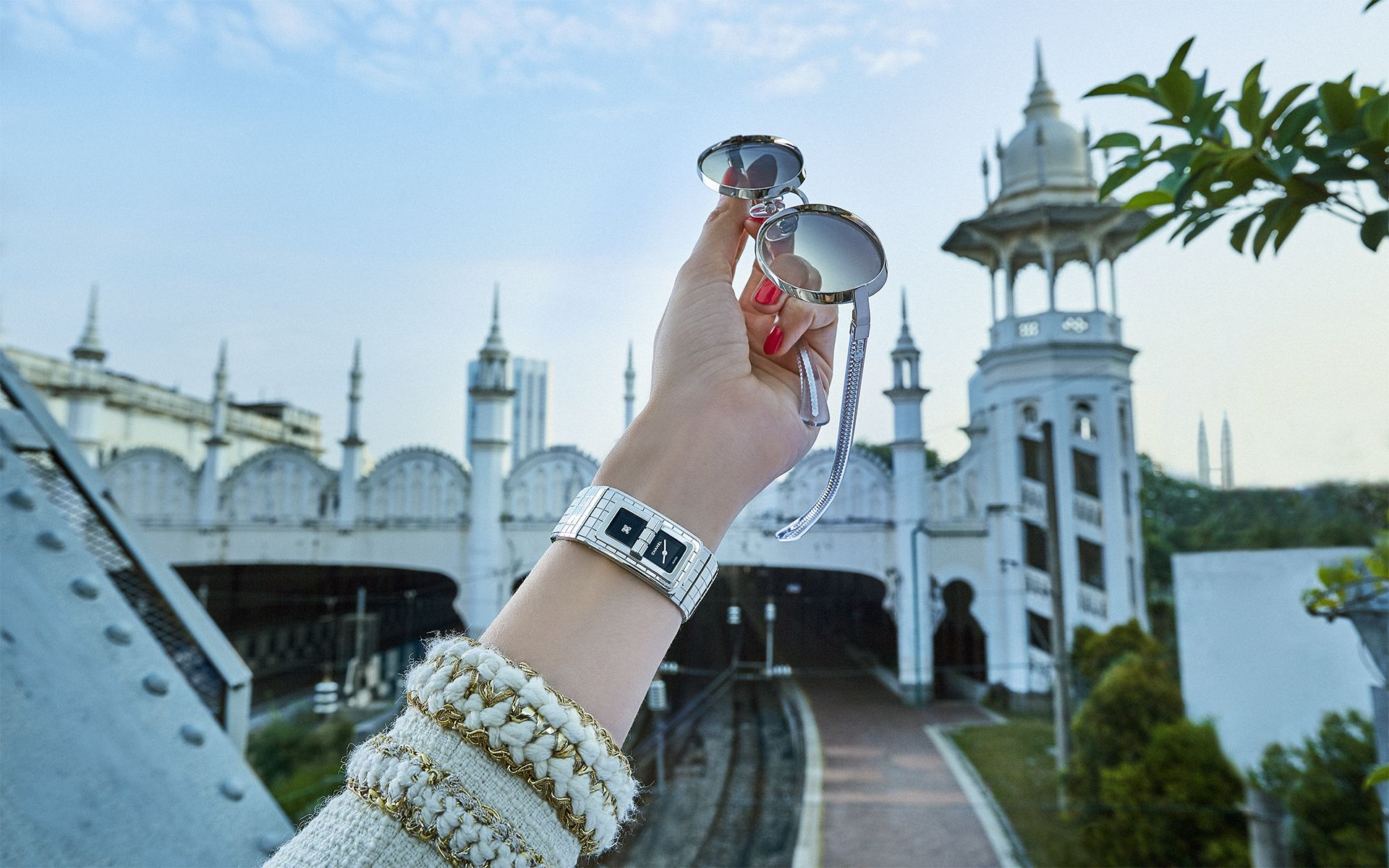 Time-Travelling Through Kuala Lumpur's Iconic Landmarks With The Chanel Woman