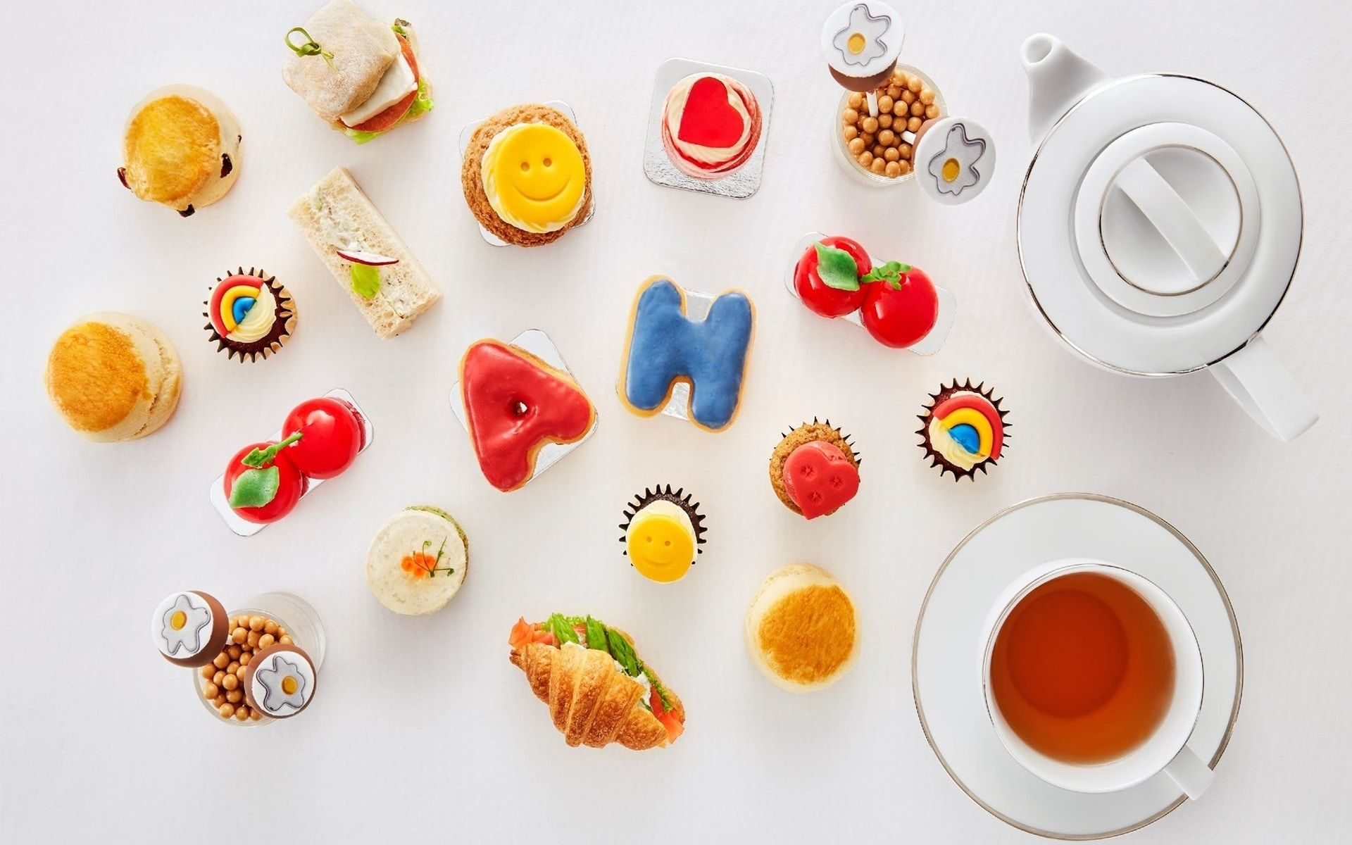 Tea With A 'Chubby' Twist: Anya Hindmarch's Afternoon Tea At The Mandarin Oriental KL