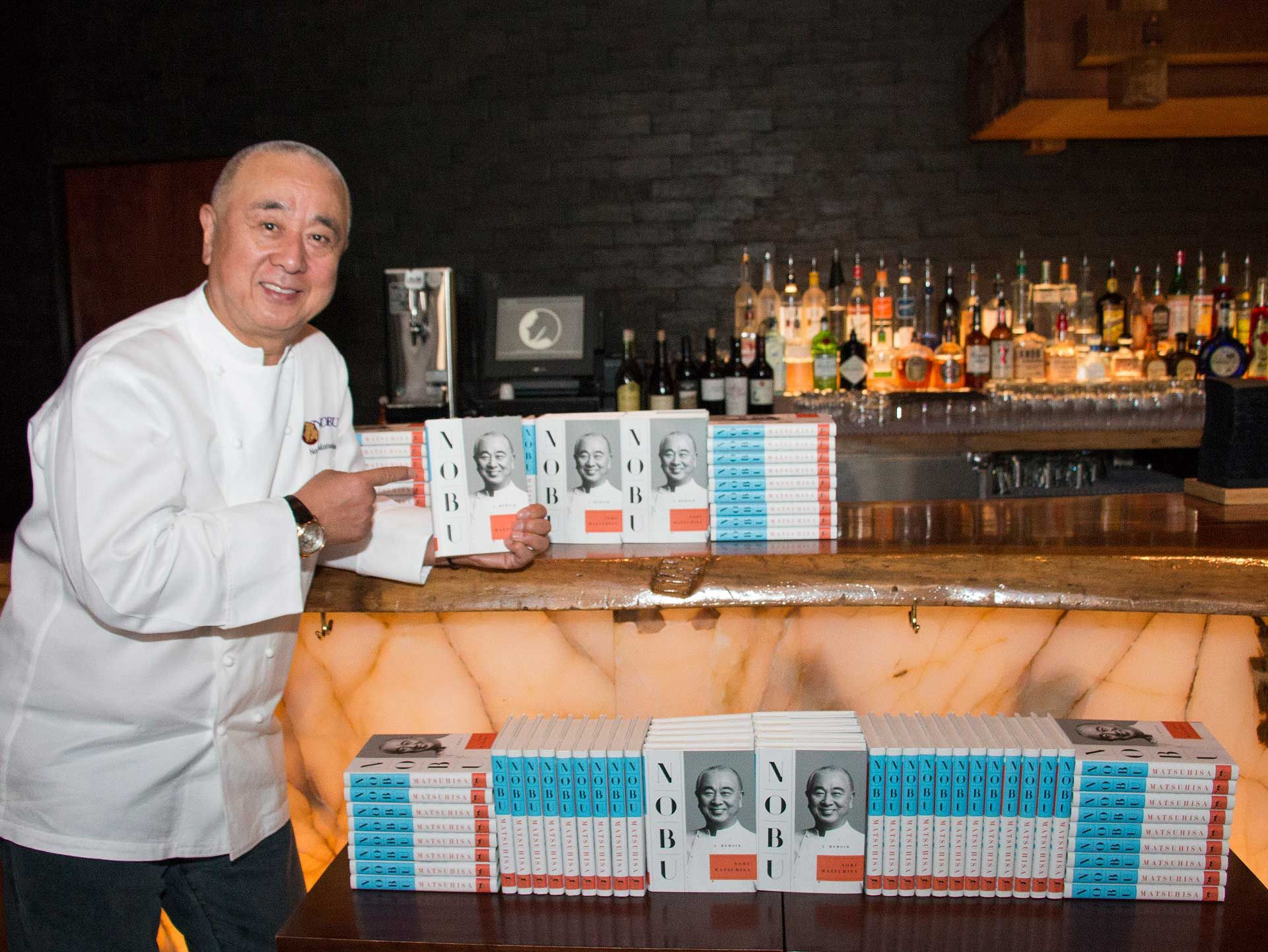 How Does An Autographed Copy Of Nobu's Memoir & An Omakase Dinner Sound?