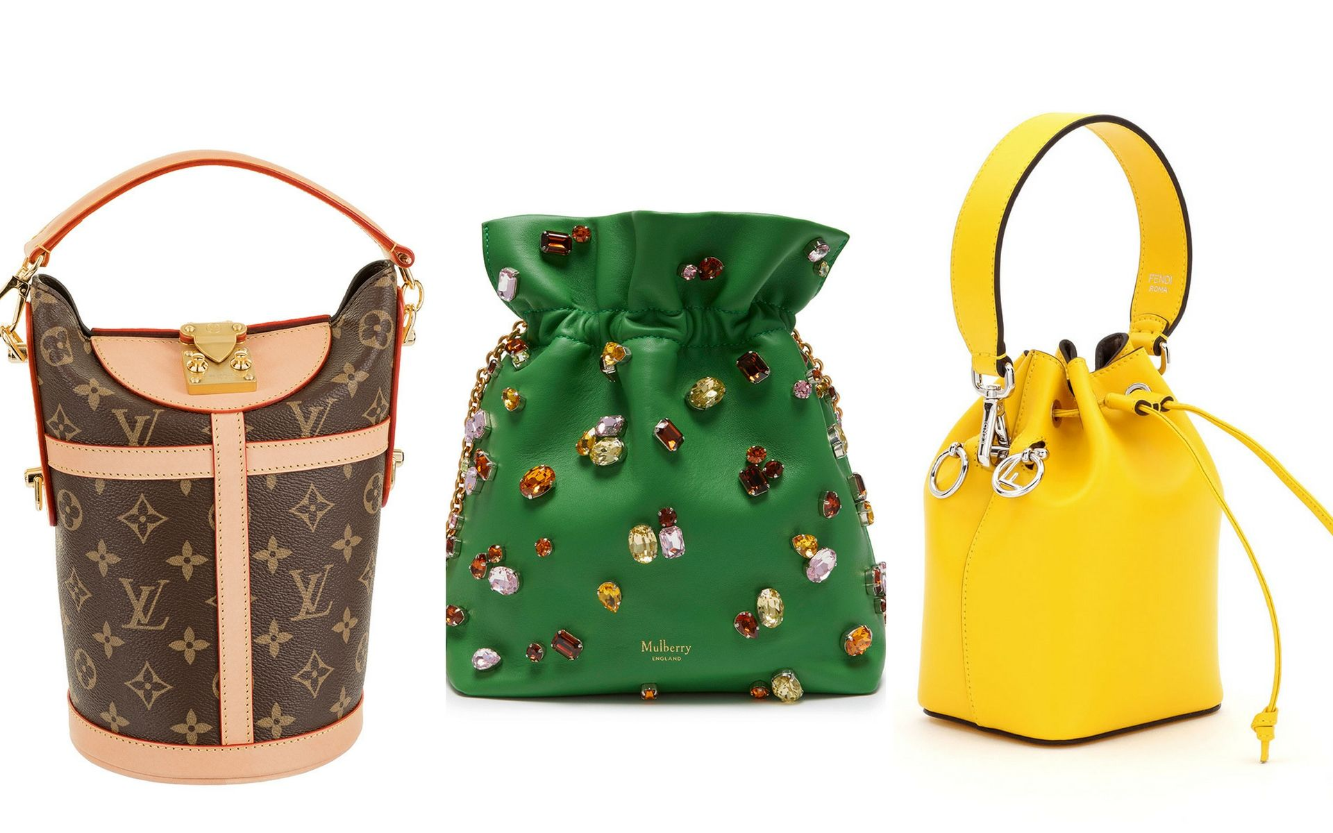 c661c0f7e6b3 9 Bucket Bags That Are Essentially The  Money Bags  Of This Season ...
