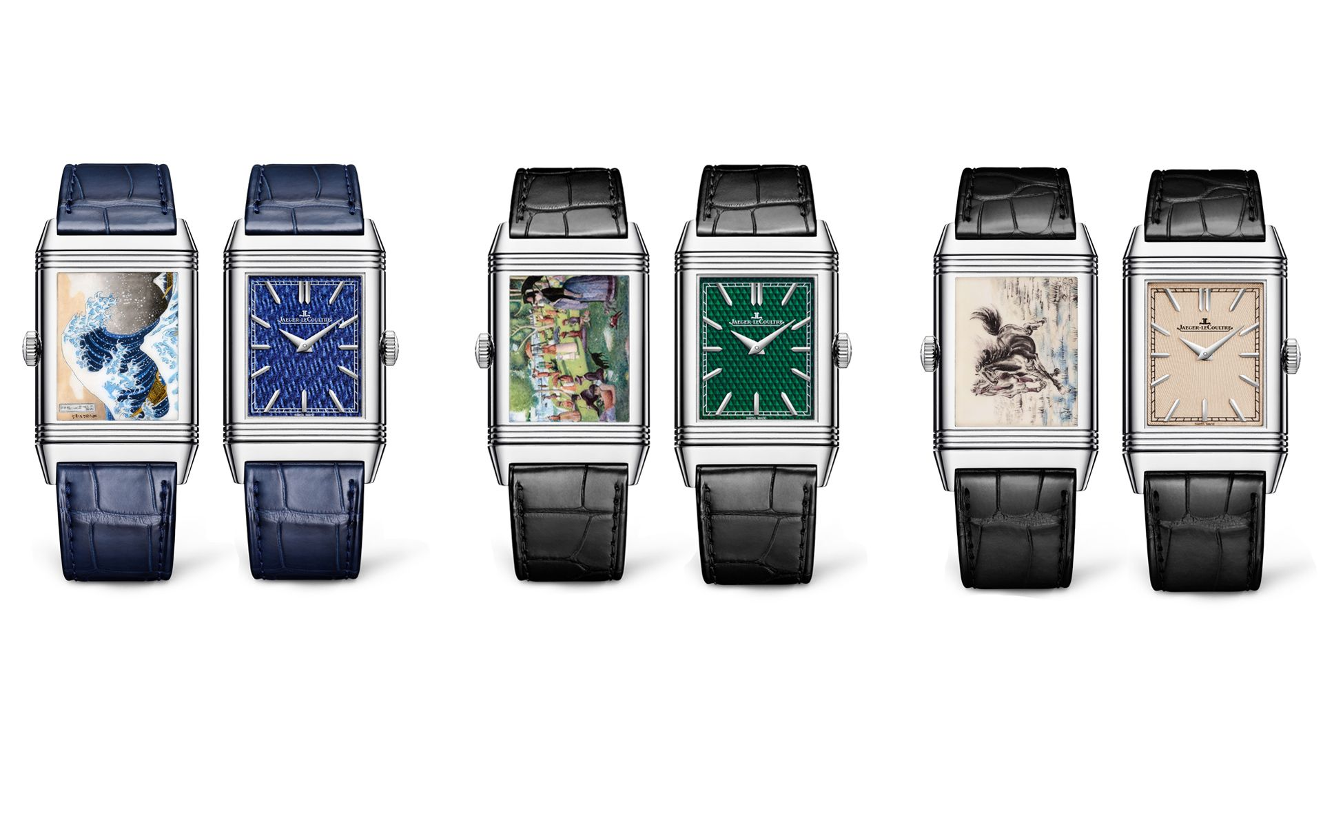 Jaeger-LeCoultre's Reverso Tribute Enamel: A Work Of Art From Front To Back