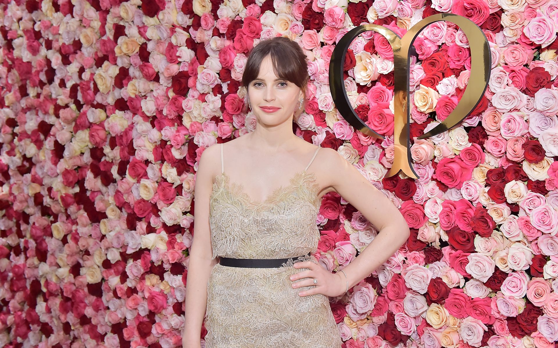 Felicity Jones Makes Her Debut In Los Angeles As The New Face Of Clé de Peau Beauté