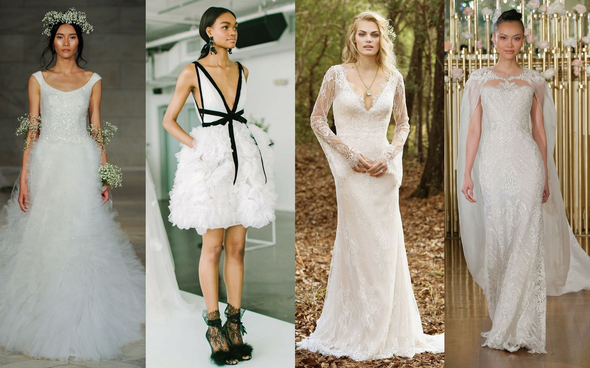5 Classic Bridal Dress Trends That Are Forever, And The 15 Ways To Wear Them Today