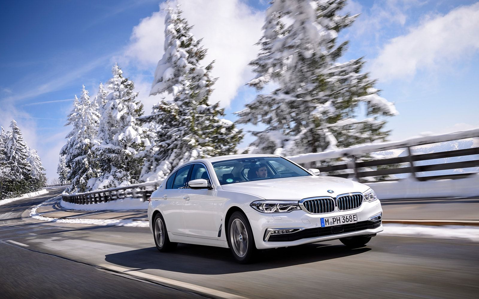 BMW's New 5 Series Hybrid Sedan Is Made For Eco Warriors