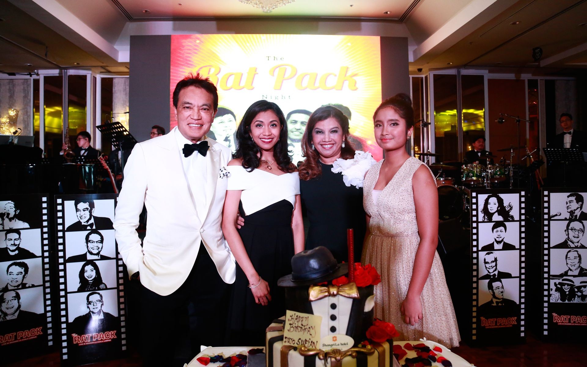 Dato Sufian Majids Rat Pack Themed Birthday Party
