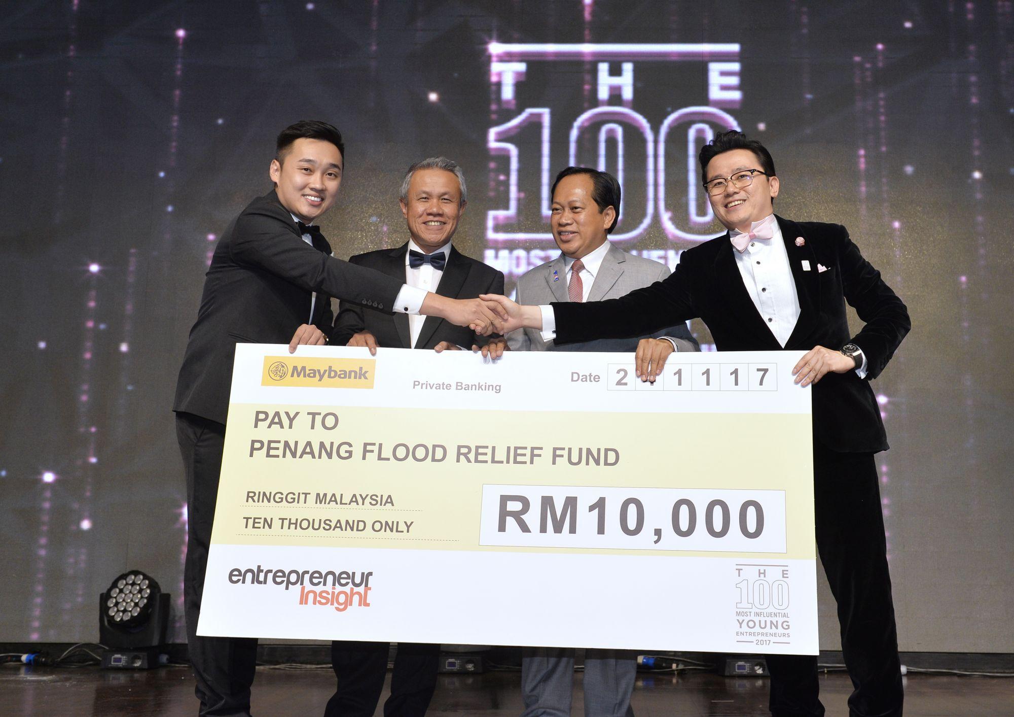 Kris See Ke Shyang, Dato' Wan Latiff Wan Musa, Datuk Ahmad Maslan and Dato' KK Chua