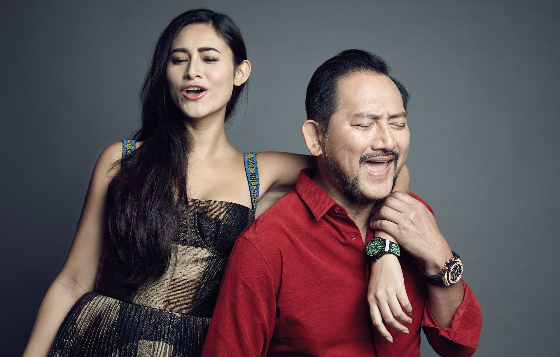 Like Father, Like Daughter: Tunku Dato' Yaacob Khyra And Tunku Elana Khyra