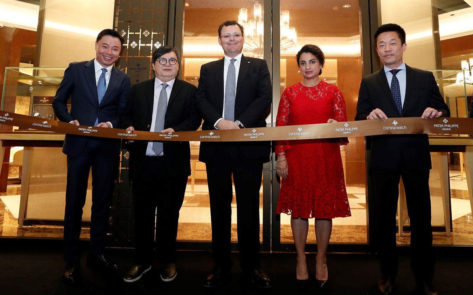 Tay Liam Khoon, Raymond Lim, Thierry Stern, Deepa Chatrath and Francis Tan