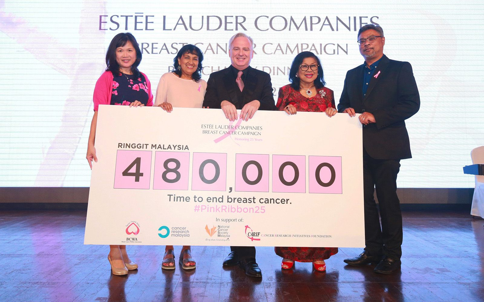Estée Lauder Companies Breast Cancer Awareness Charity Gala