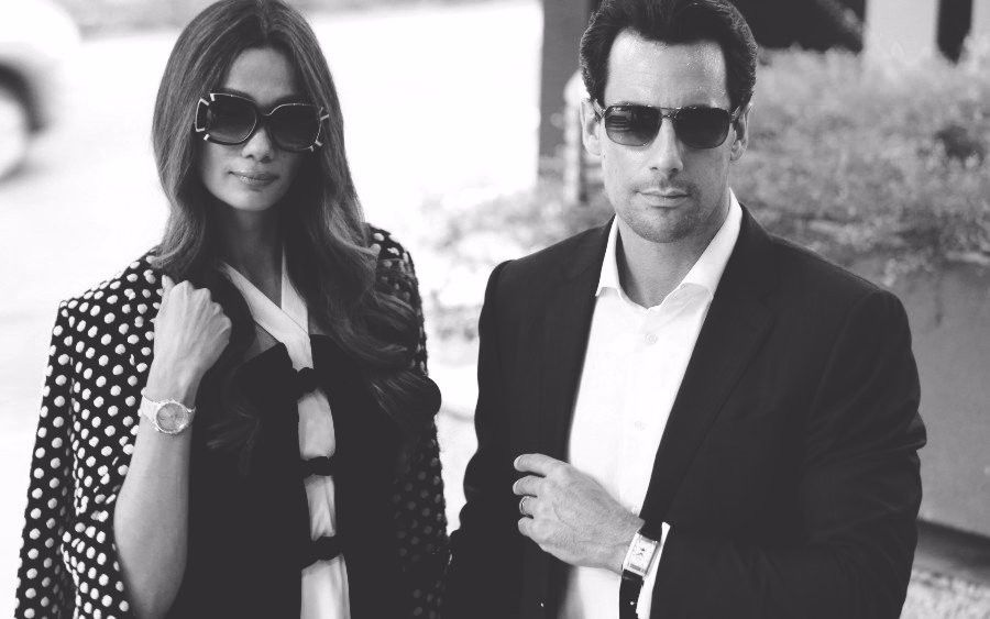 Jaeger-LeCoultre Presents Kavita Sidhu And Roberto Guiati In 'A Time To Love'