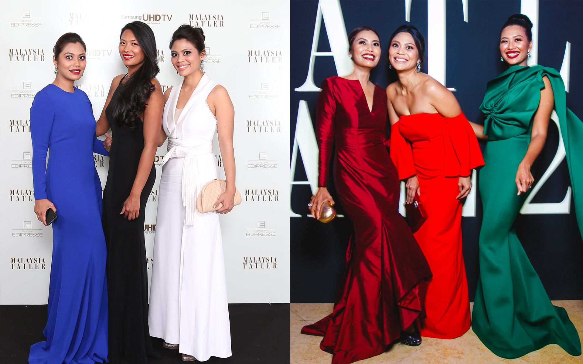 Throwback: How 25 Guests Dressed For The Ball, Then Vs. Now