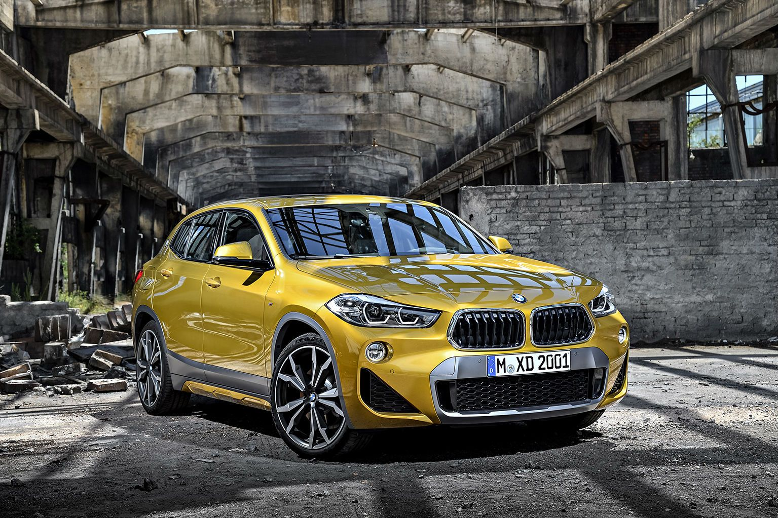 The Long-Awaited BMW X2 Crossover Is Finally Unveiled
