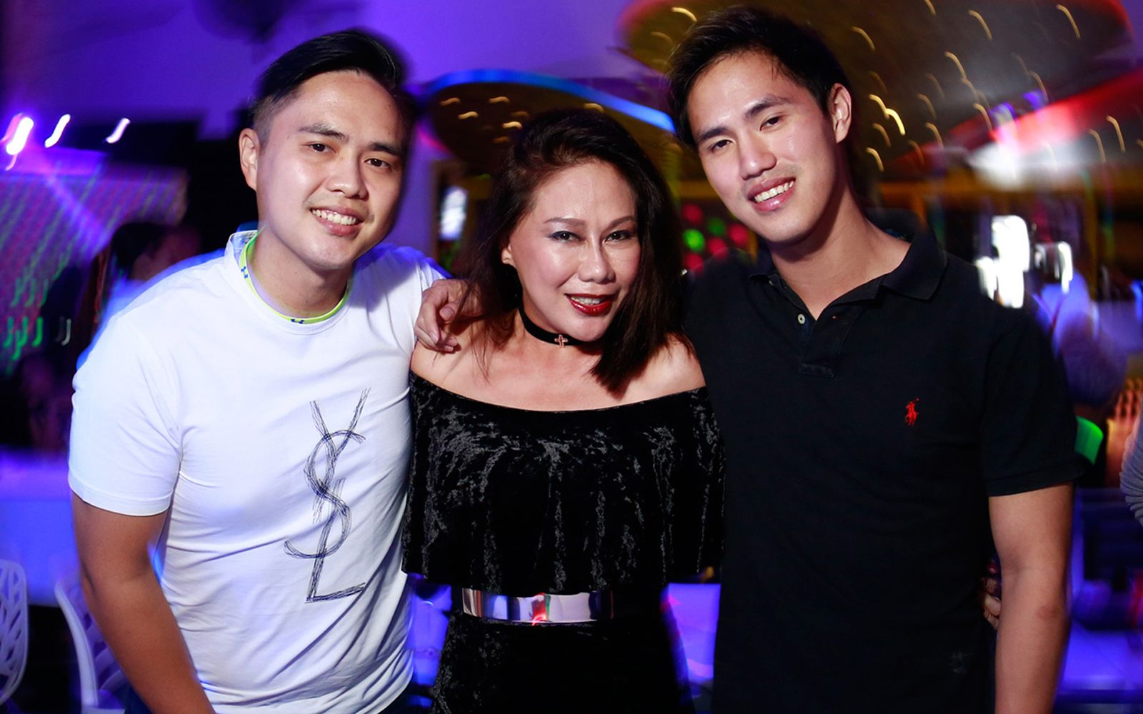 Brian Choo, Michele Kwok and Mark Choo