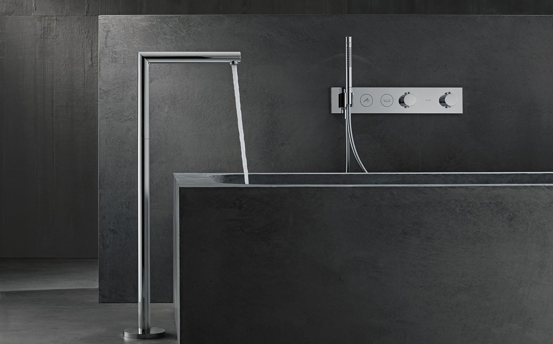 AXOR Combines 3 Biggest Bathroom Trends Into One Collection – And It's So Chic