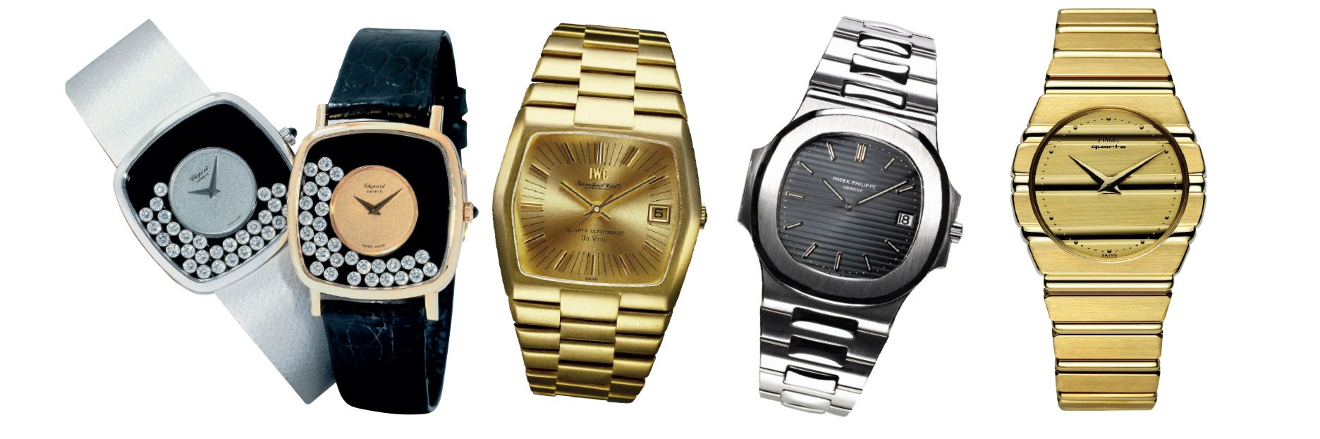 Then & Now: 10 Iconic Watches From The '70s