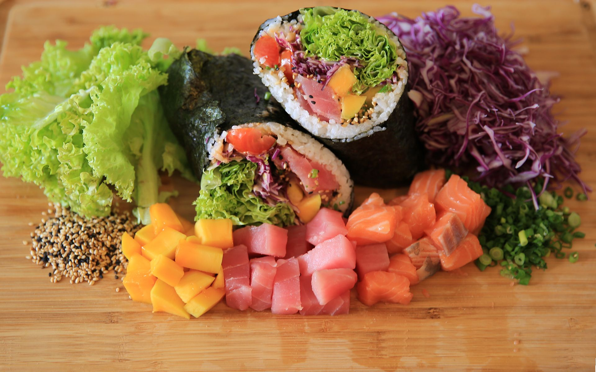 5 Spots To Pick Up A Healthy Wrap