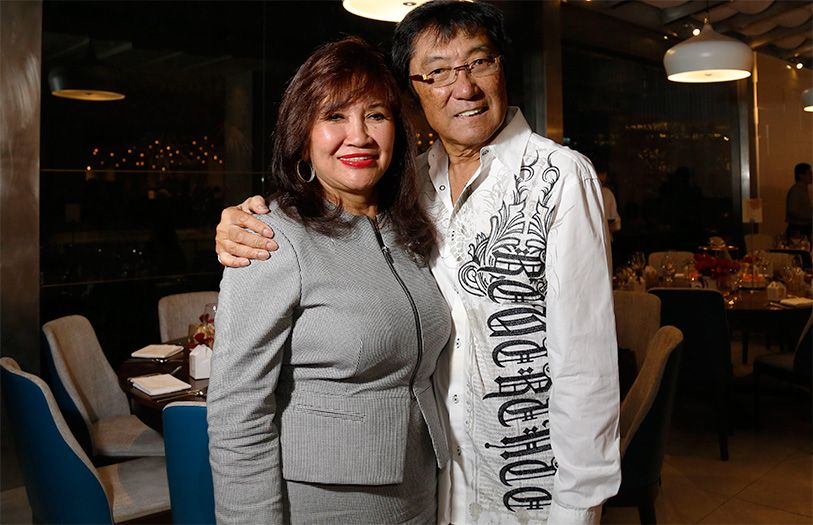 Dato' Rosemarie Wee and Captain Wee Eng Lee