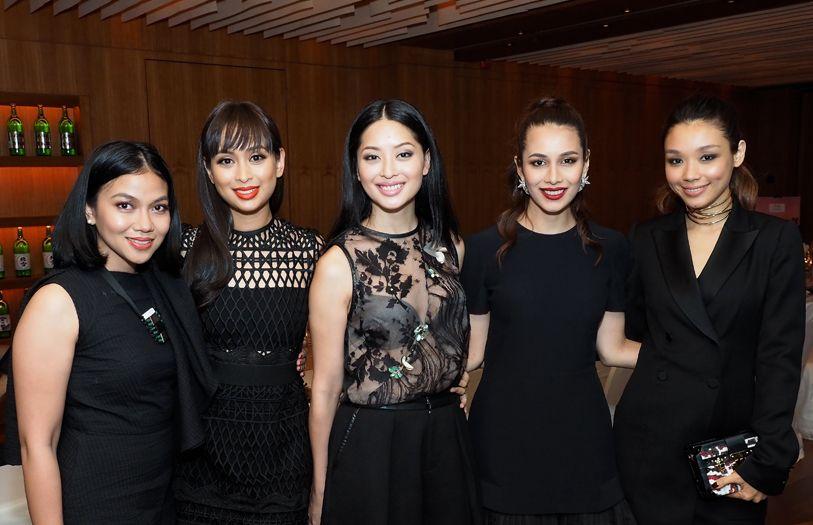 Mustasha Musa, Teja Salehuddin, Sarah Lian, Tengku Chanela Jamidah and Marion Caunter