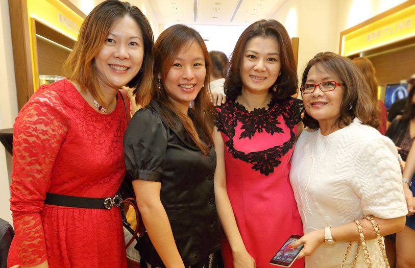 Datin Sammi Lim, Ann Khong, Evon Chew and Cynthia Ng